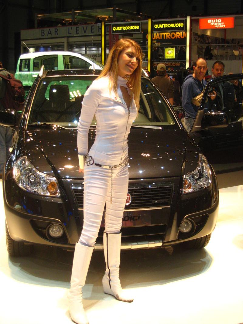 Fiat with signorita