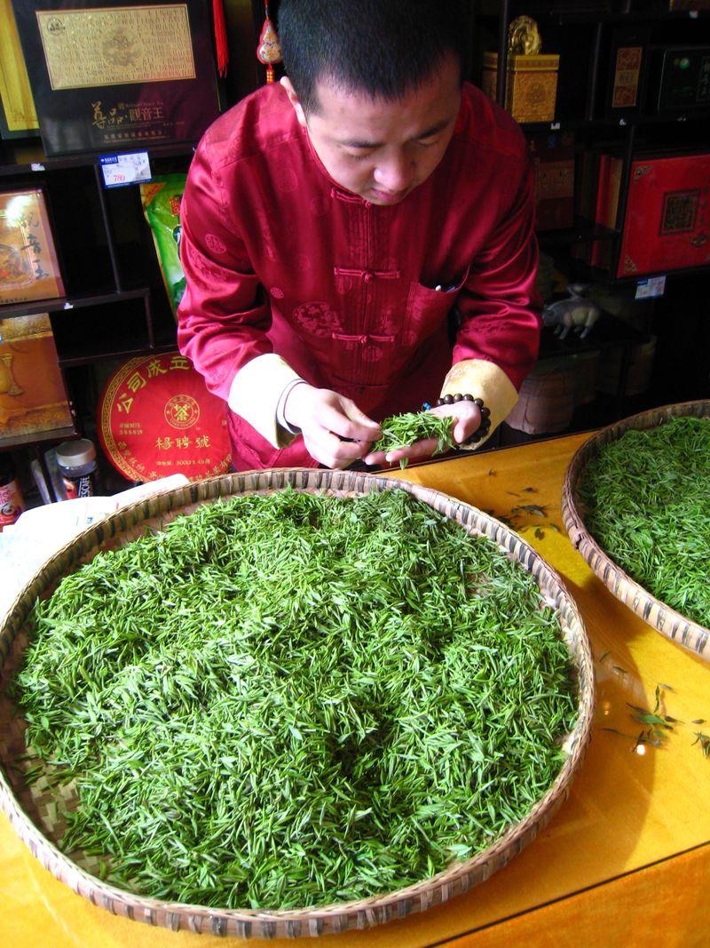 Chengdu Chinese tea sampling 2