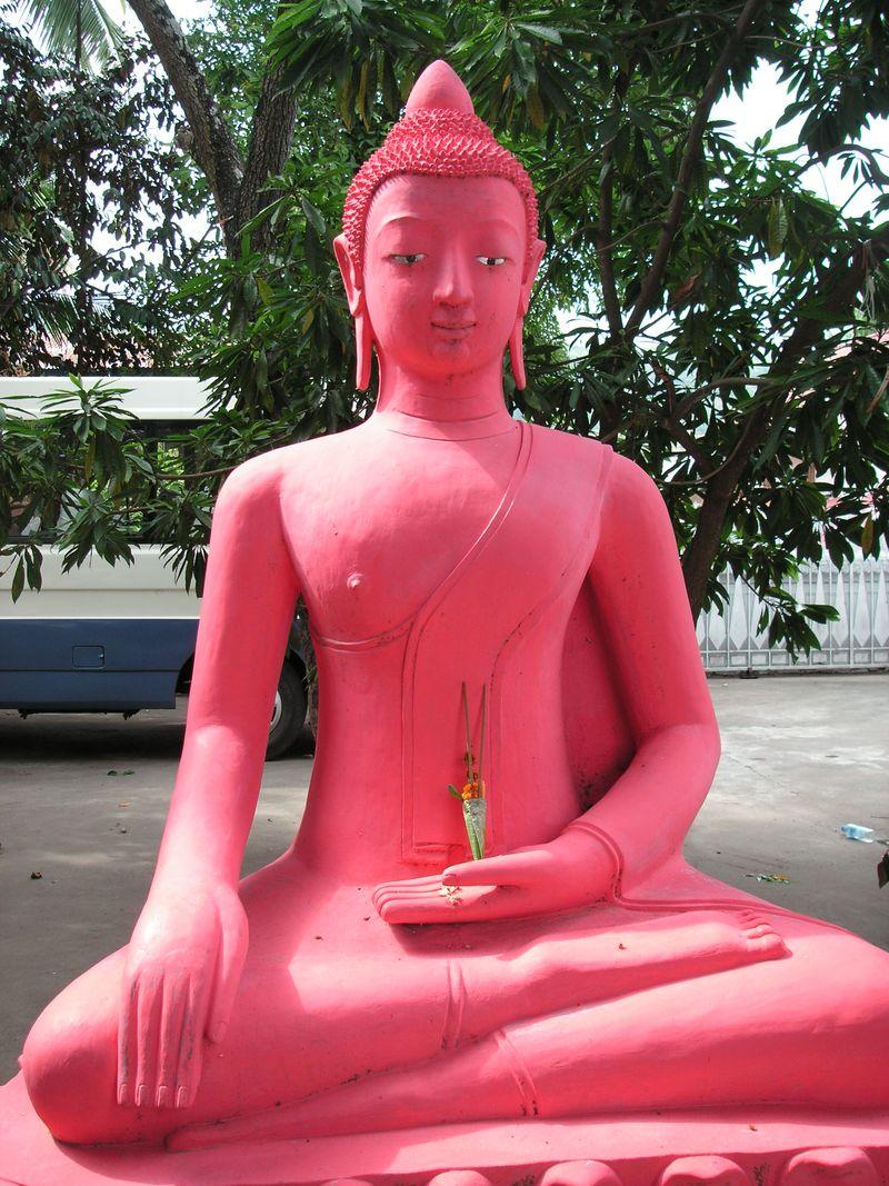 Luang Prabang Red Buddha